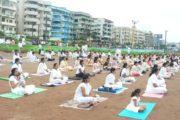 International Yoga Day సరైన ఆహారం, వ్యాయామం, ధ్యానం యోగ సాధన కు పట్టు కొమ్మలు,Vizagvision...
