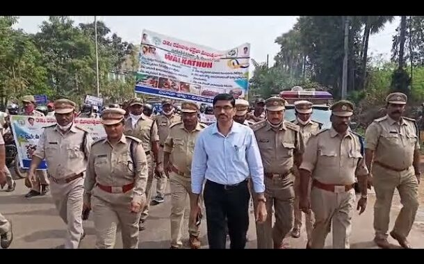 32nd National Highway Safety Festival awareness by Transport Department in Visakhapatnam VizagVision