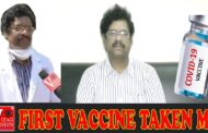 First vaccine taken me - truth about Kovid-19 vaccines Dr.P.V.Sudhakar Spl Officer Visakhapatnam
