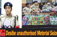High Desibe unauthorised Meterial Seized Police East ACP Rhitha Visakhapatnam,Vizagvision