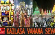 Kailasa Vahana Seva in Srisailam Vizagvision