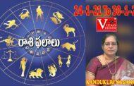 Rasi Phalalu in Telugu | Weekly Rasi Phalalu jan24th-jan30th 2021 | Kandukuri Nagamani | VizagVision