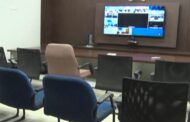 SEC Nimmagadda Ramesh Video Conference Empty Chairs Vizag Vision