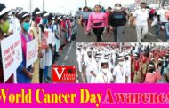 Walk for supporting cancer awareness rally | RK beach | Visakhapatnam| Vizagvision