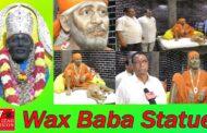 Wax Baba Statue   Sri Shirdi Sai Baba Dhyana Mandiram   Rly New Colony   Visakhapatnam   Vizagvision