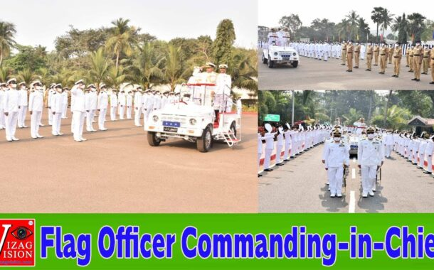 Vice Admiral Ajendra Bahadur Singh takes over as Flag Officer Commanding-in-Chief,ENC Visakhapatnam