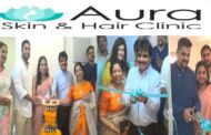 Aura Skin and Hair Clinic Grand Inauguration 2nd Clinic Daspalla Hills in Visakhapatnam Vizag Vision