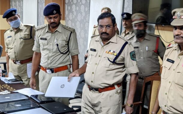 City Police recovered 1.90 lakhs worth of gold and silver jewelery Visakhapatnam Vizagvision
