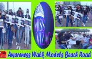 Miss Vizag 2021 | Awareness Walk Models | Masks and Sanitizers | Beach Road | Visakhapatnam