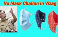 No Mask Challan in Vizag | Police Commissioner Warning | Visakhapatnam | Vizagvision