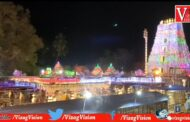 Srisailam Mallikarjuna Temple Decoration Full Lighting For Ugadi Mahotsavam Kurnool Vizagvision