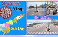 5th Day   Day Curfew   Beach Road   Visakhapatnam   Vizag Vision