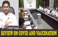 AP CM Jagan Review Meeting on Covid and Vaccination at Camp office Vizag Vision