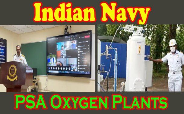 Indian Navy Conducts Skill Development Training Program Maintenance of PSA Oxygen Plants Vizagvision