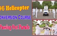 96 Helicopter Conversion Course Passing Out Parade by vizag vision