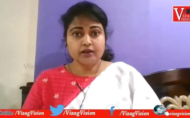 TDP Divya Vani Addressing the Media comments made by the YSRCP Leaders by Vizagvision