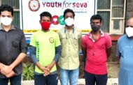 Youth for Seva Volunteers Food Distribution in KGH Patents Visakhapatnam by Vizagvision