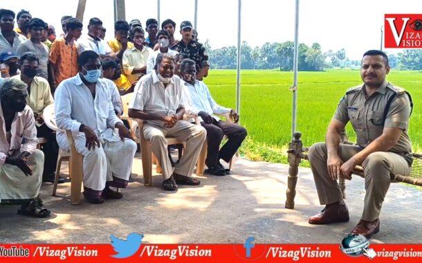 SP Siddharth Kaushal IPS   Rachchabandha   Krishna District   Vizagvision
